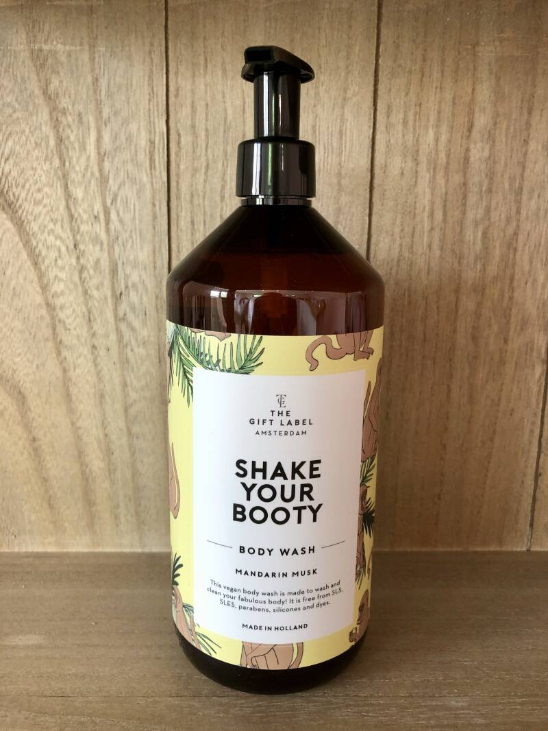 Why Be Moody When You Can Shake Your Booty - Body Wash