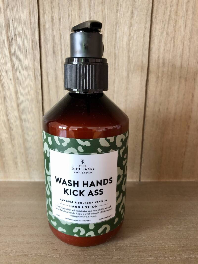 Wash Hands Kick Ass - Hand Lotion