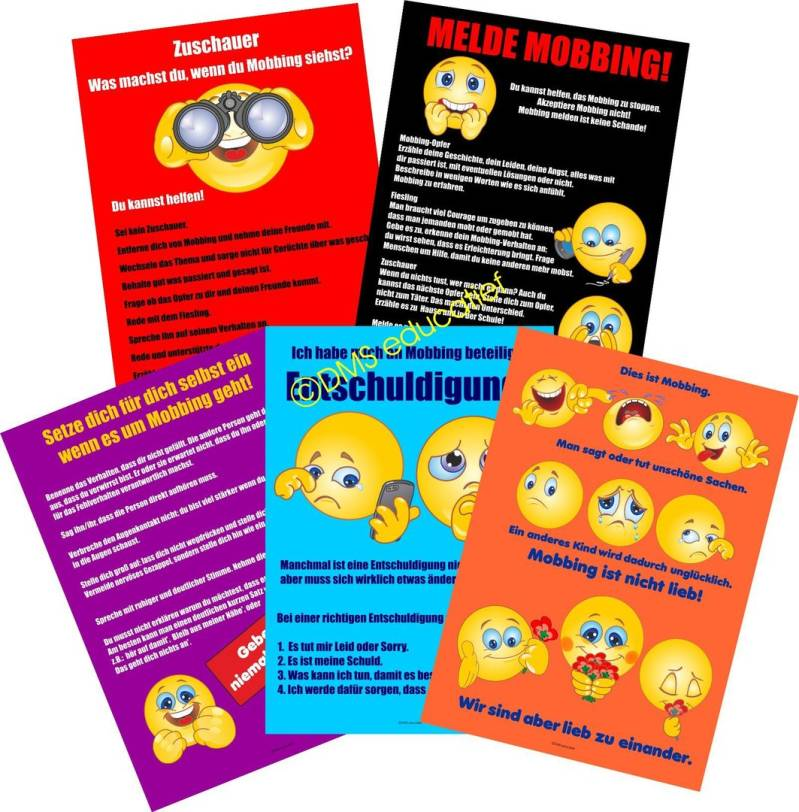 Posterpaket Mobbing Smiley