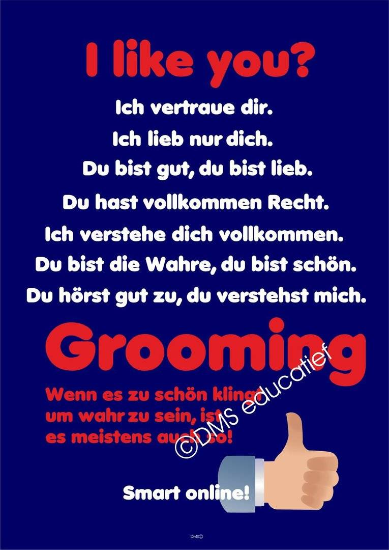 Poster 'Grooming'