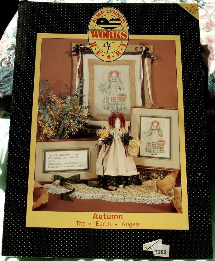 Autumn The Earth Angels By Alma Lynne Works Of Heart Cross Stitch