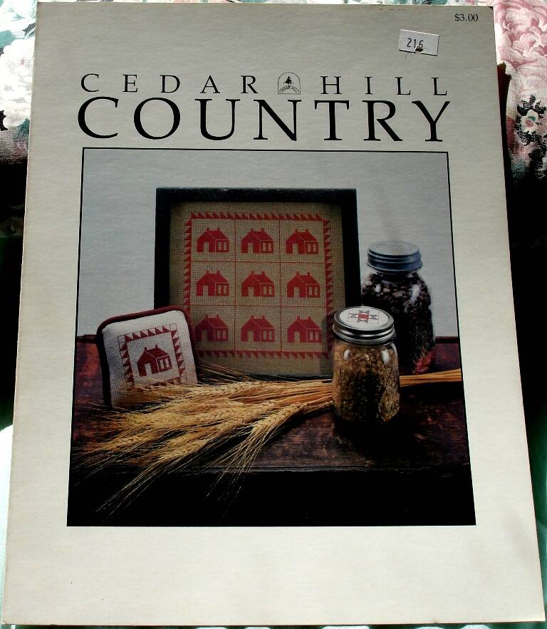 Cedar Hill Country School House Quilt Cross Stitch And Ohio Star Graphs