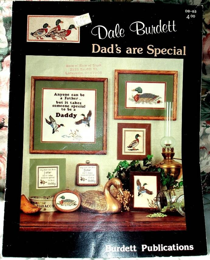 Dads Are Special Counted Cross Stitch By Dale Burdett DB-83