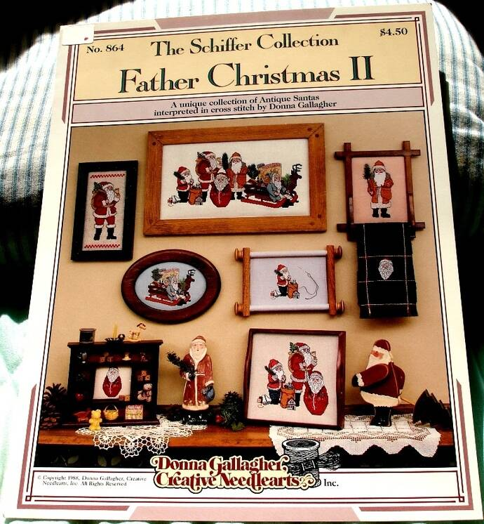 Father Christmas II The Schiffer Collection No. 864 By Donna Gallagher