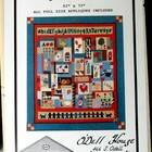Folk Art ABC's Vintage Quilt Pattern Designed By Betty Sue O'Dell