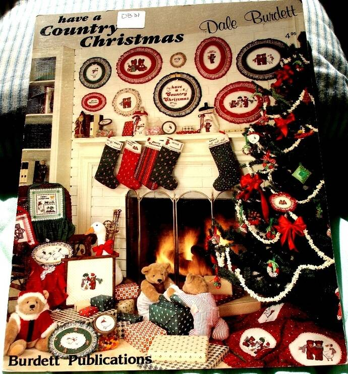 Have A Country Christmas Cross Stitch Pattern Leaflet By Dale Burdett