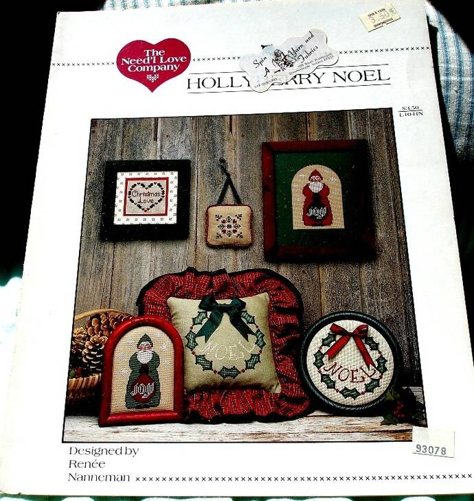 Holly Berry Noel By The Need'l Love Company