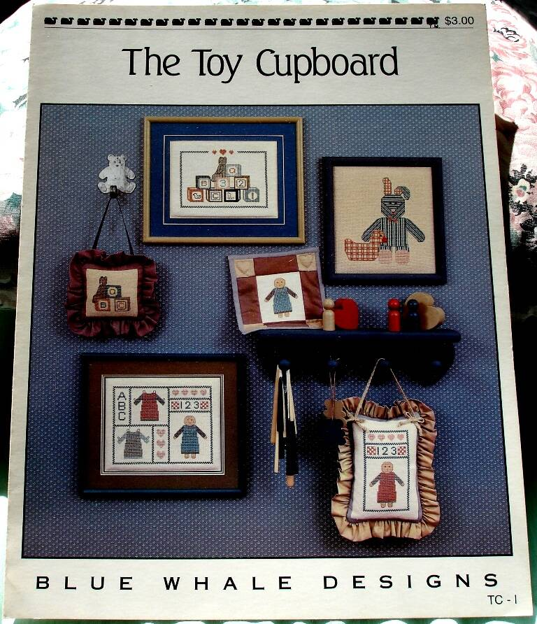 The Toy Cupboard Counted Cross Stitch By Blue Whale Designs TC-1