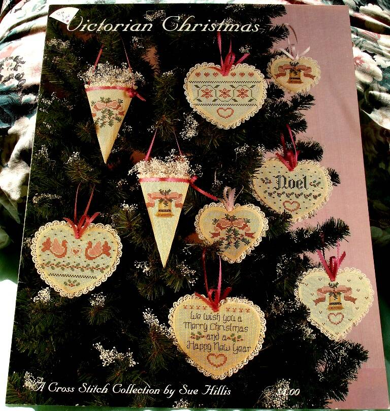 Victorian Christmas A Cross Stitch Collection By Sue Hillis Designs