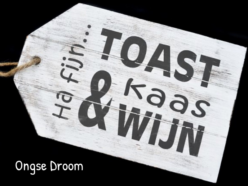 'Borrel/Kaas' plank