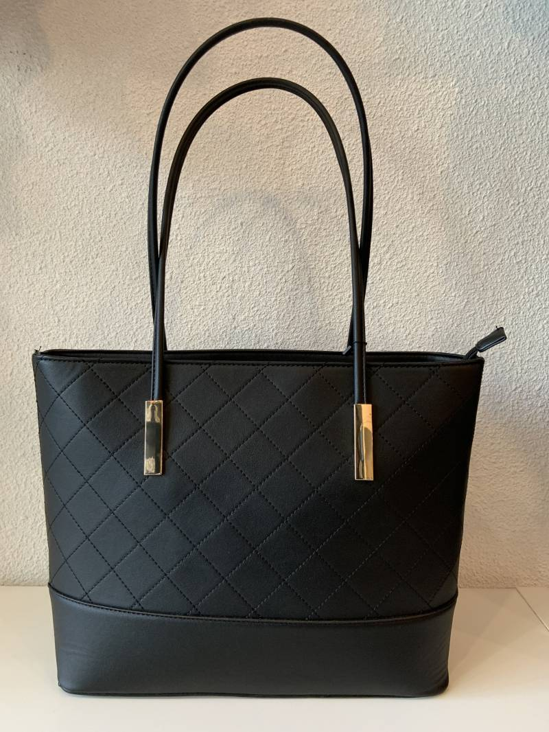Laptop schouder tas Black