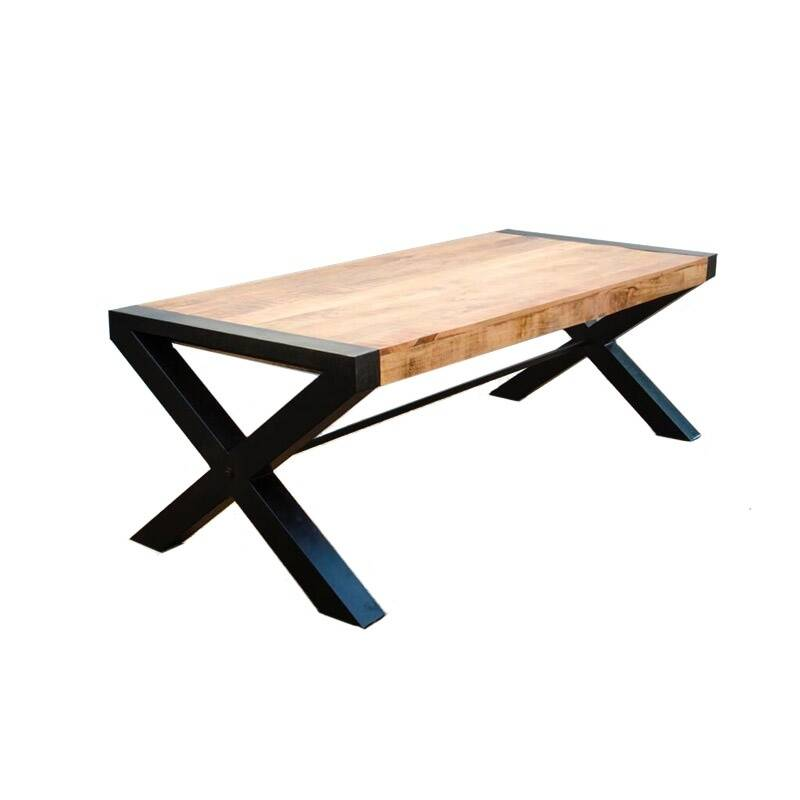 Eettafel Crossed Mango