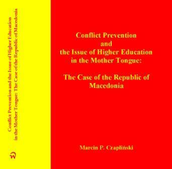 Conflict Prevention and the Issue of Higher Education in the Mother Tongue