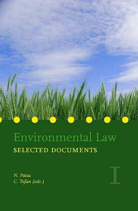Environmental law Selected Documents