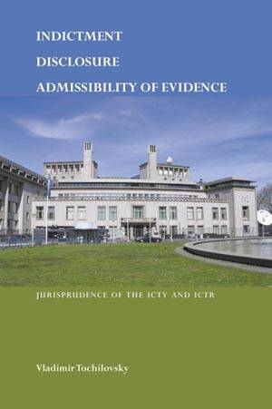 Indictment, disclosure, admissibility of evidence