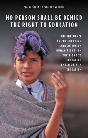 No person shall be denied the rights to education