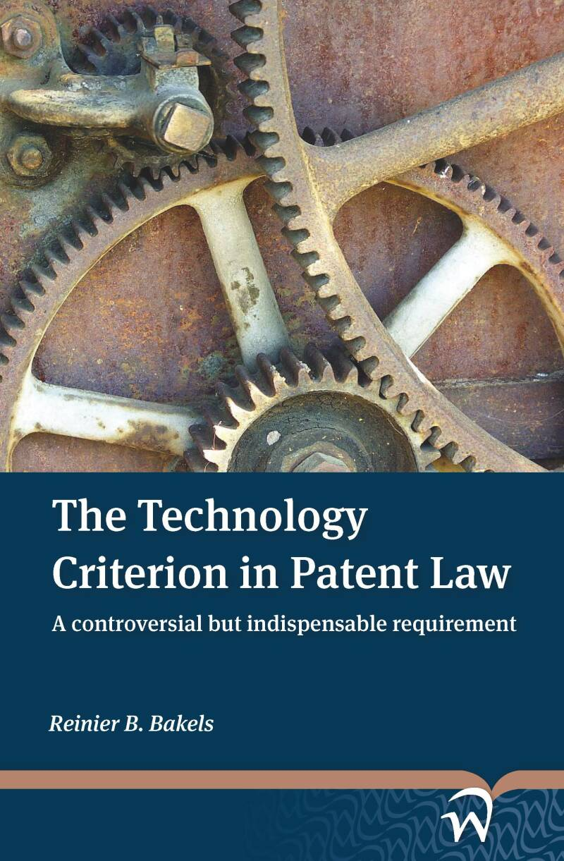 The Technology Criterion in Patent Law