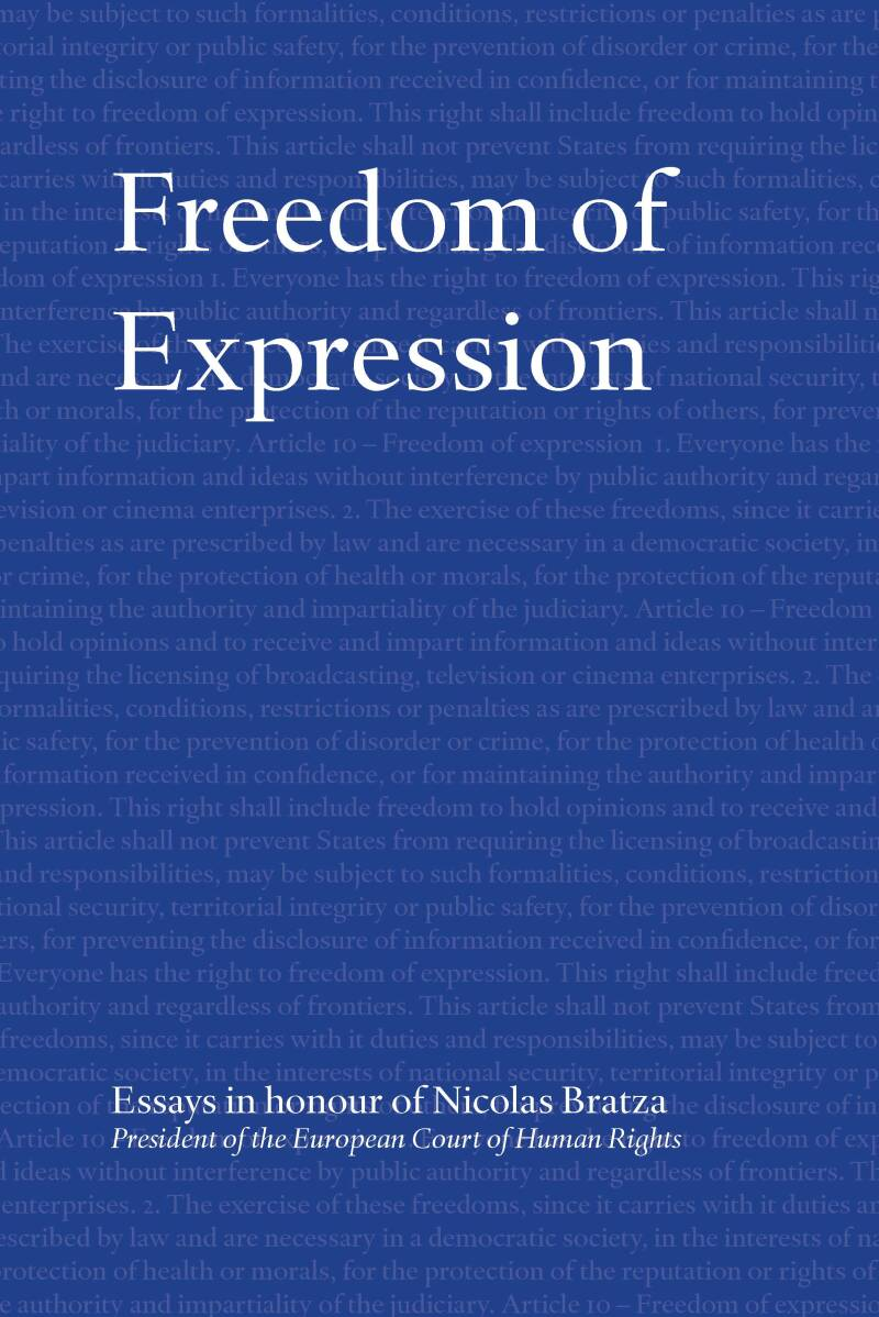 Freedom of Expression (HARDCOVER)