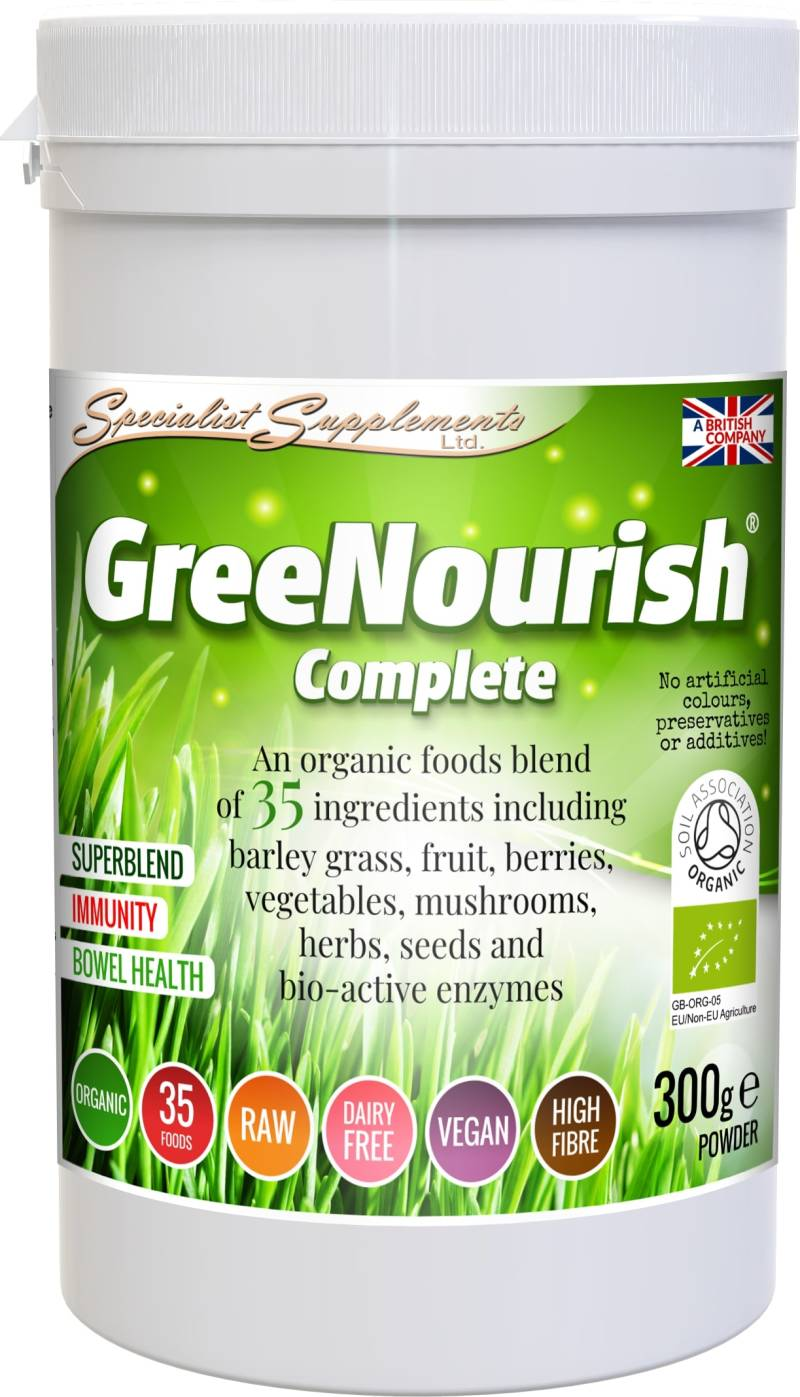 Specialist Supplements GreeNourish Complete v2 organic pdr