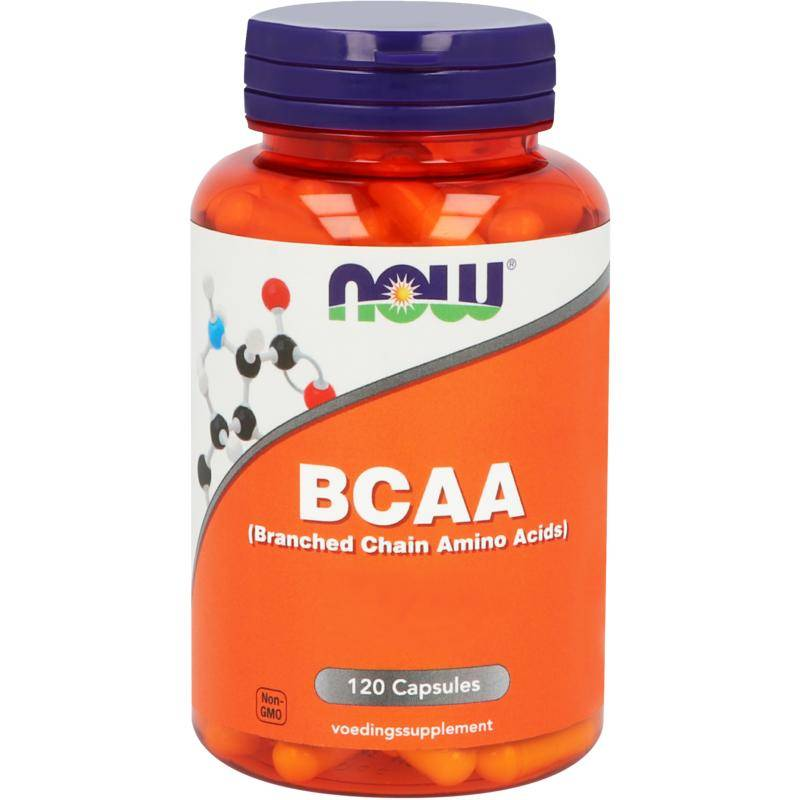 NOW BCAA (Branched Chain Amino Acids)