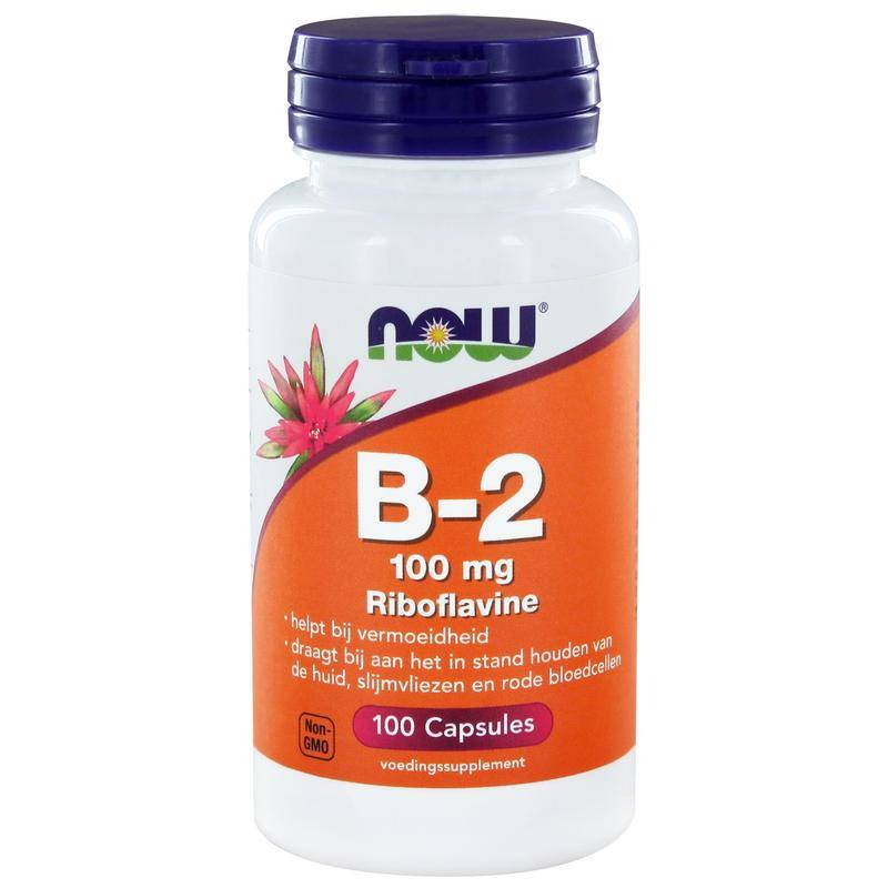 NOW Vitamine B2 100 mg