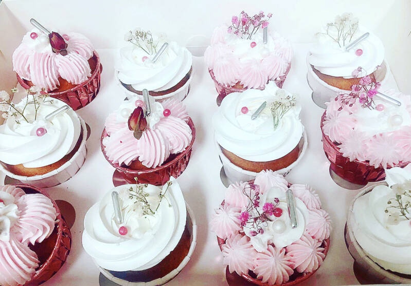 CUPCAKEBOX | WHITE&PINK