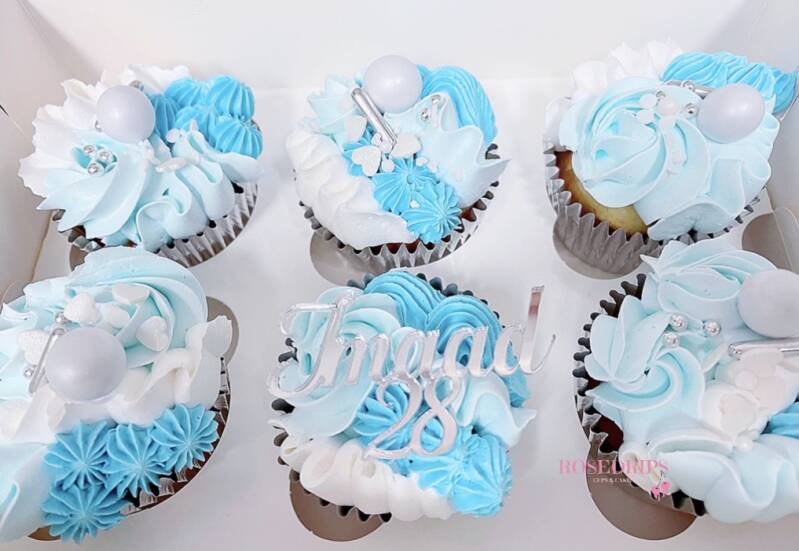 CUPCAKEBOX | BLUE&SILVER