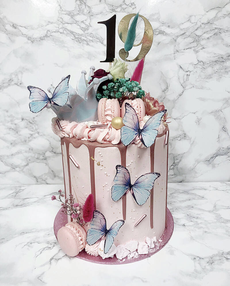 DRIPCAKE   DELUXE BUTTERFLY CROWN