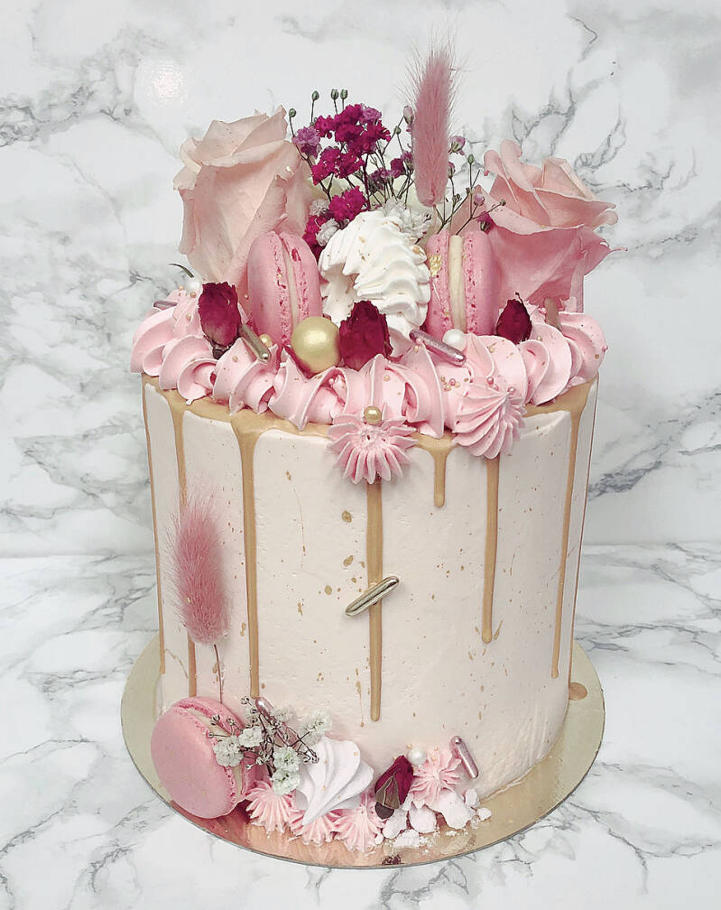 DRIPCAKE | DELUXE PINK&GOLD