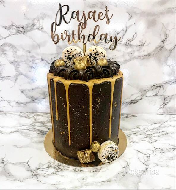 DRIPCAKE | BLACK&GOLD