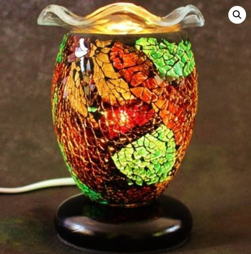 Mosaic Electric Wax Melter / Oil Warmer