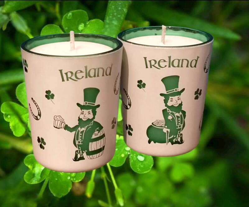Ireland candles (set of 2)