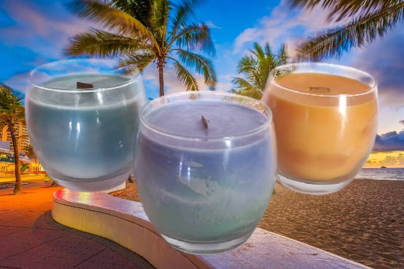 """""""Vacations"""" Candles"""