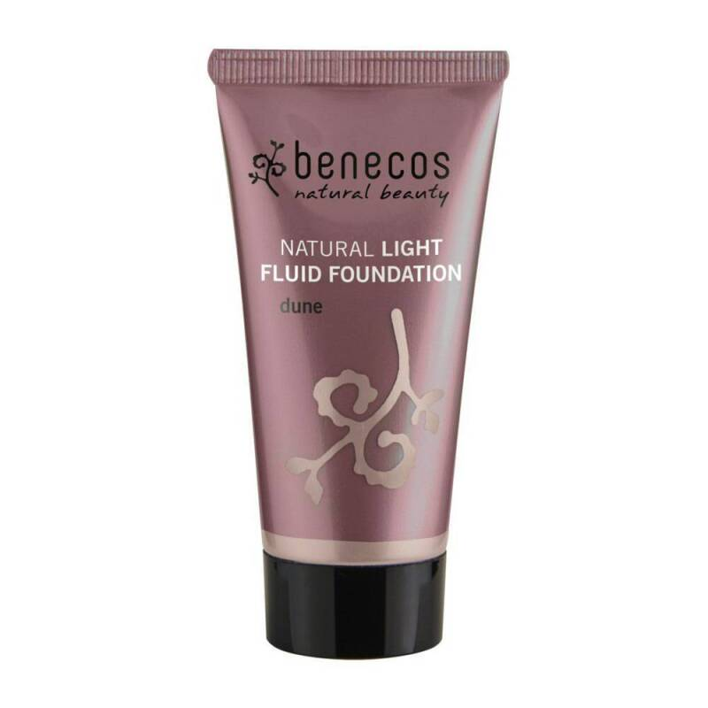 Benecos Light Fluid Natural Foundation 30ml Dune
