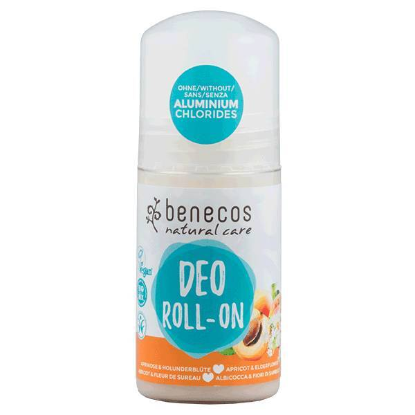 Benecos Natural Deo-Roll-On Apricot – Elderflower