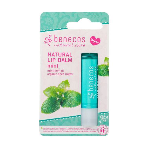 Benecos Natural Vegan Lipbalm – Mint