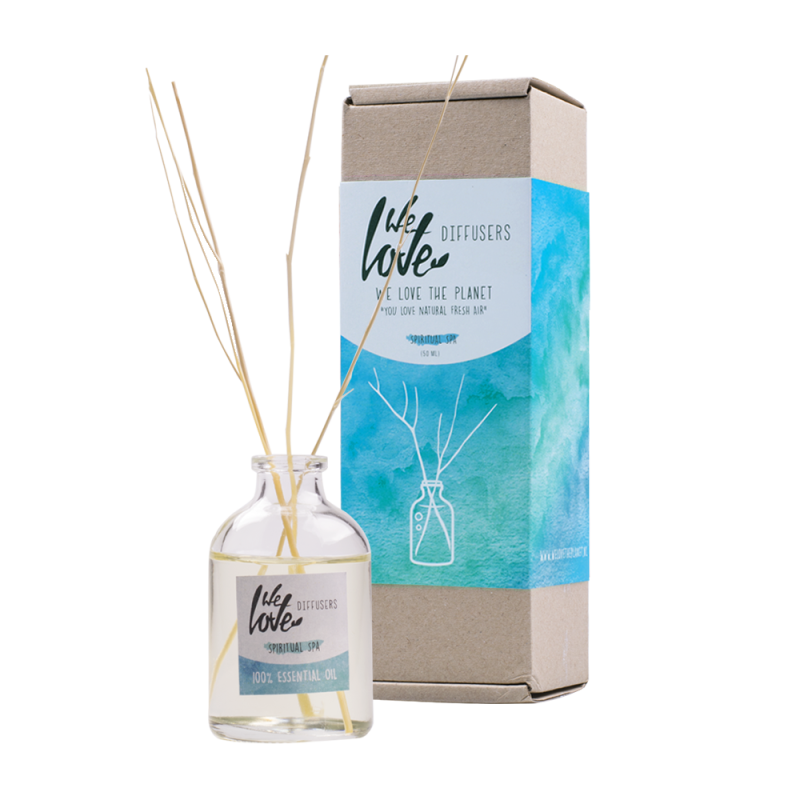 We Love The Planet Diffuser Spiritual Spa 50ml