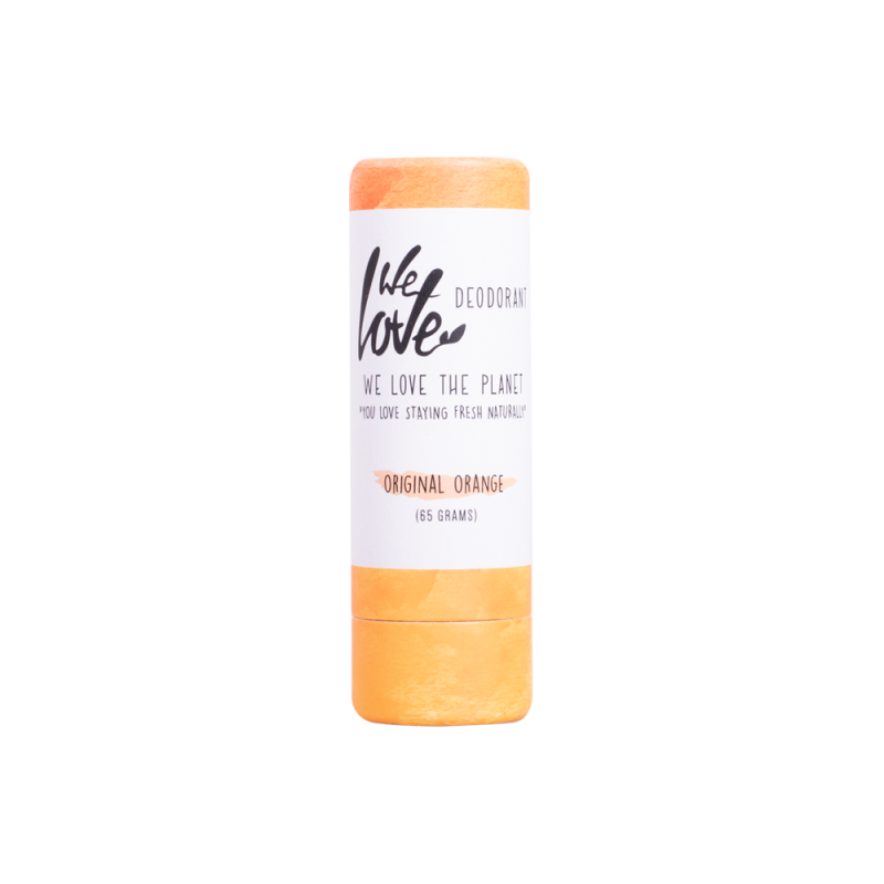 We Love The Planet | Natuurlijke deodorant stick - Original Orange