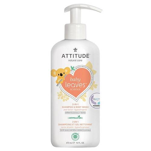 Attitude Baby Leaves 2-in-1 Shampoo – Pear nectar