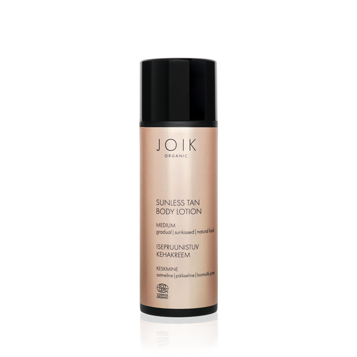 JOIK ORGANIC SUNLESS TAN BODY LOTION MEDIUM 100ML