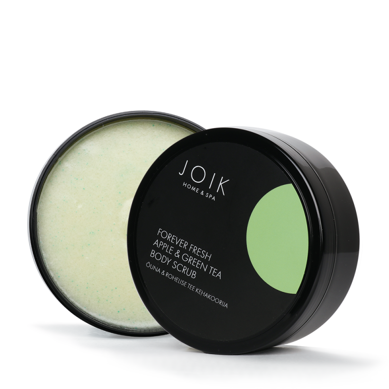 JOIK Vegan Forever Fresh Apple & Green tea bodyscrub
