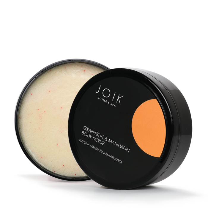JOIK Vegan Grapefruit & Mandarin white sugar bodyscrub