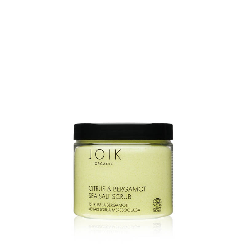 JOIK Citrus & Bergamot Sea Salt Bodyscrub