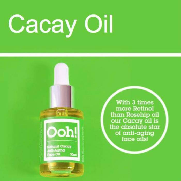 Ooh! - Oils of Heaven Natural Cacay Anti-Aging Face Oil