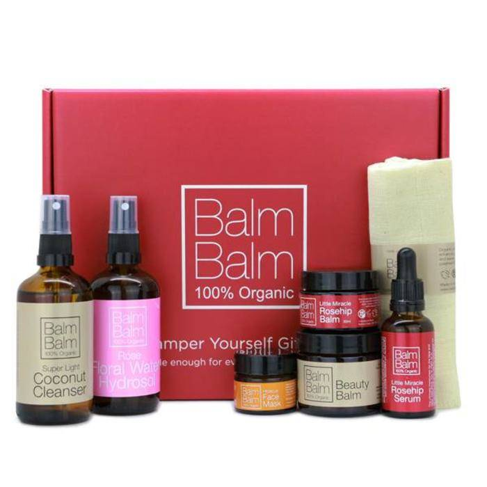 Balm Balm Pamper Yourself Organic Gift Set