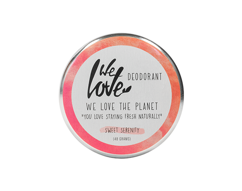 We Love The Planet Natuurlijke Deodorant Crème Sweet Serenity
