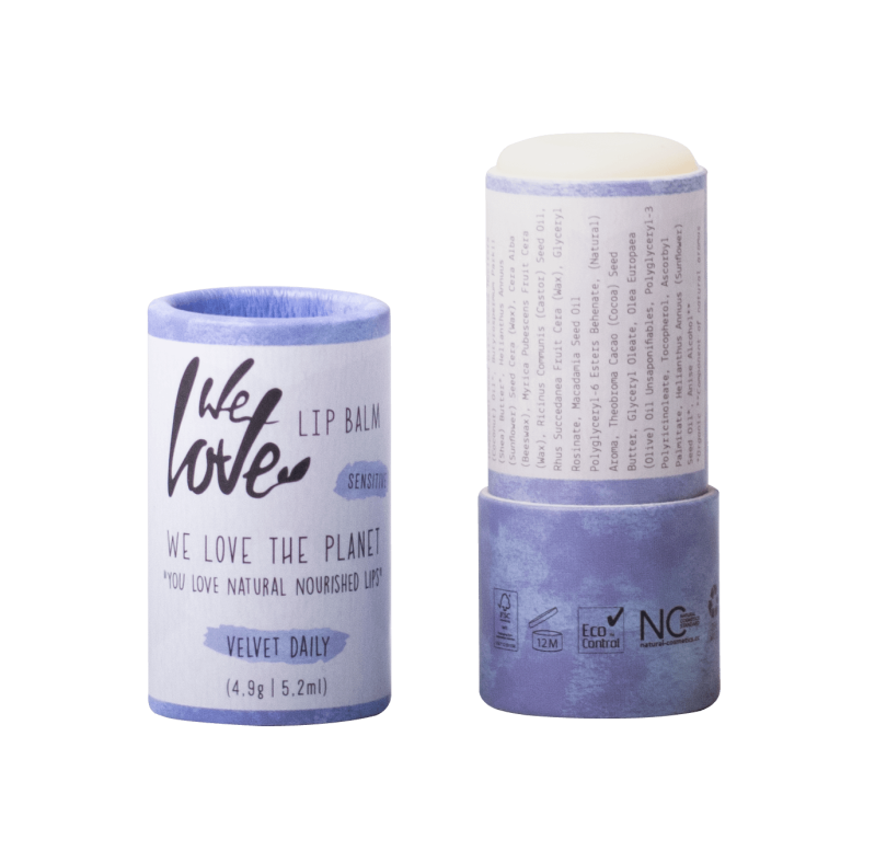 We Love The Planet Natuurlijke lip balm  Velvet Daily