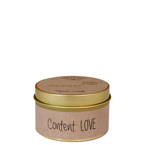 My Flame: Content Love  - Fresh Cotton