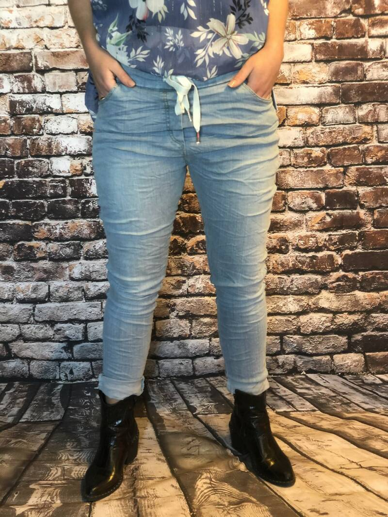 Comfy joggy jeans licht