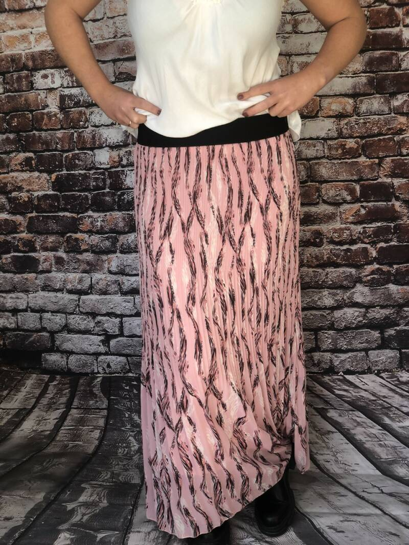 Print rok Pink Feather